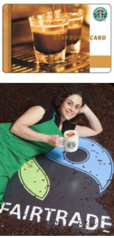 starbucks card rewards card Starbucks goes Fairtrade   win a £25 Starbucks Card to celebrate!