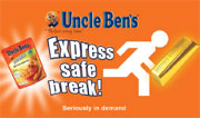 unclebenscomp Win a seriously in demand hamper of Uncle Ben's Express Rice....