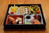 bento box at satsuma Satsuma, W1