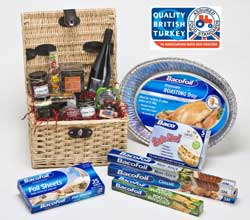 bacofoil hamper with bt Win a luxury Christmas hamper with BacoFoil®