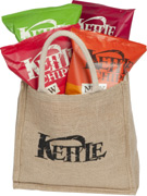 bagnl Win Kettle® Chips and a portable barbecue!