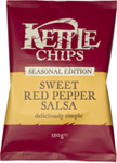 sweet red pepper salsa150g Win Kettle® Chips and a portable barbecue!