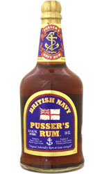Pussers Rum Pussers Blue Label Navy Rum  