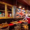 Try to imagine a restaurant that's a cross between the bar in Cheers and a British version of TGI Friday's.  It'll go something like this:- wooden seating booths , frosted […]