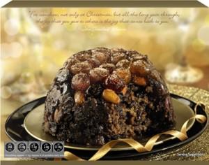 Aldi Xmas Pud 300x236 Christmas Food Ideas