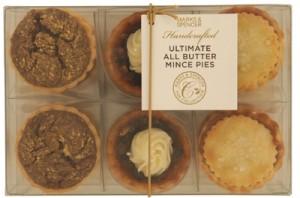 MS All Butter Mini Mince Pies £5 300x198 Mince Pie Taste Test